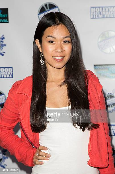 Actress Jen Oda attends Hollywood Reel Independent Film Festival awards ceremony at New Beverly Cinema on February 13 2014 in Los Angeles California