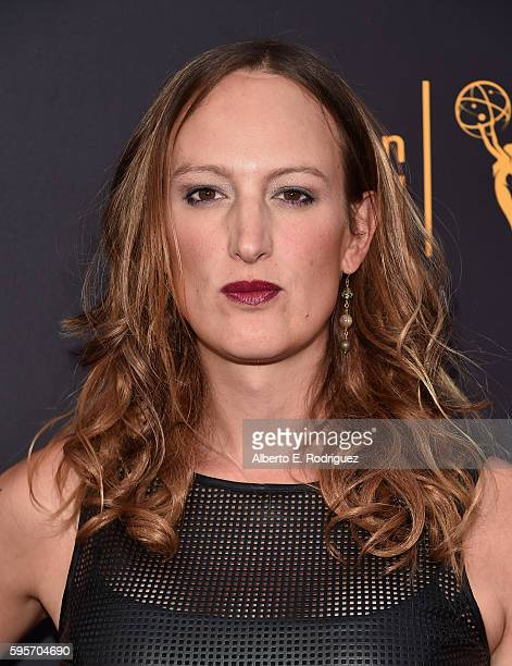 Actress Jen Richards attends the Television Academy And SAGAFTRA's 4th Annual Dynamic and Diverse Celebration at The Saban Media Center on August 25...