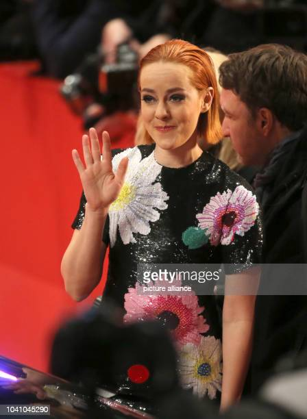 US actress Jena Malone at the opening gala of the 65th Berlin Film Festival and the premiere of Nobody Wants The Night 5 February 2015 The movie is...