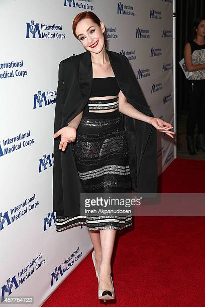 Actress Jena Malone attends the International Medical Corps' Annual Awards Dinner Ceremony at the Beverly Wilshire Four Seasons Hotel on October 23...