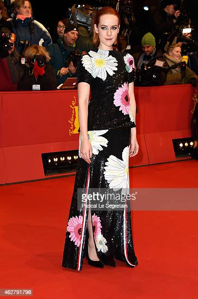 Actress Jena Malone attends the 'Nobody Wants the Night' Opening Night premiere during the 65th Berlinale International Film Festival at Berlinale...
