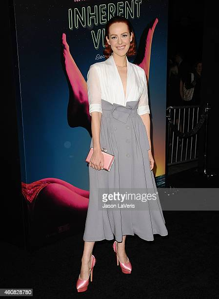 Actress Jena Malone attends the premiere of 'Inherent Vice' at TCL Chinese Theatre on December 10 2014 in Hollywood California