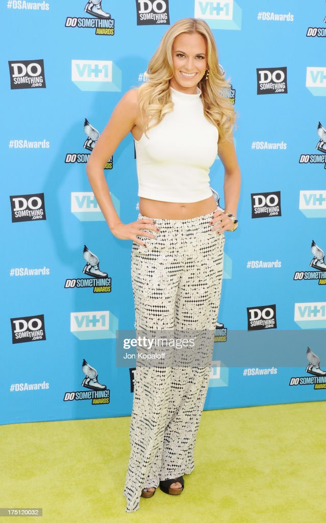 Actress Jena Sims arrives at the 2013 Do Something Awards at Avalon on July 31, 2013 in Hollywood, California.