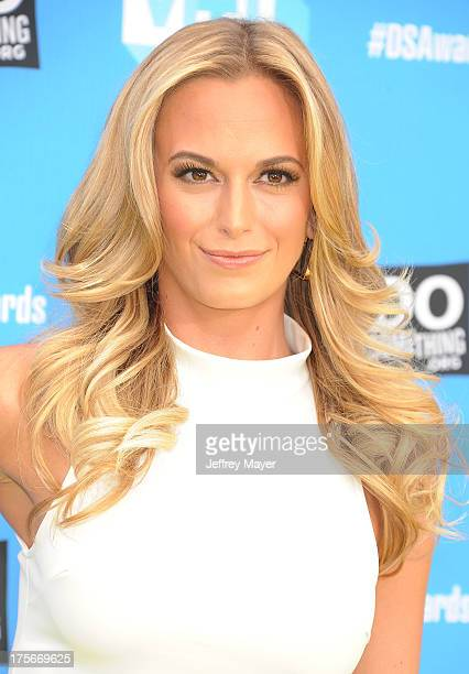 Actress Jena Sims arrives at the DoSomethingorg and VH1's 2013 Do Something Awards at Avalon on July 31 2013 in Hollywood California