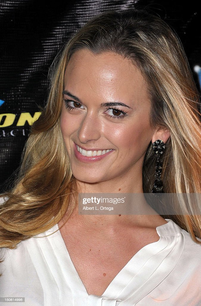 Actress Jena Sims arrives for Heavy Metal Magazine's 35th Anniversary Party - Day 1 of Comic-Con International 2012 held at The Haunted Hotel on Thursday July 12, 2012 in San Diego, California.
