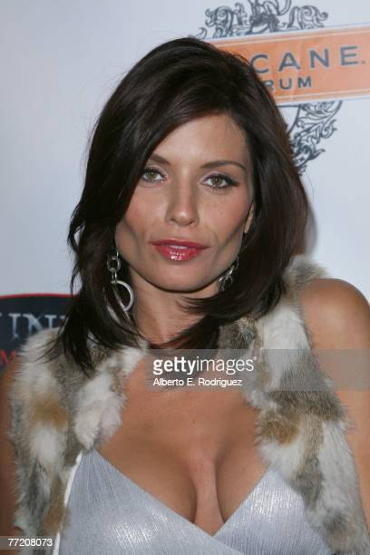 Actress Jenae Alt arrives at the Runway Magazine launch party held at Area nightclub on October 5 2007 in West Hollywood California