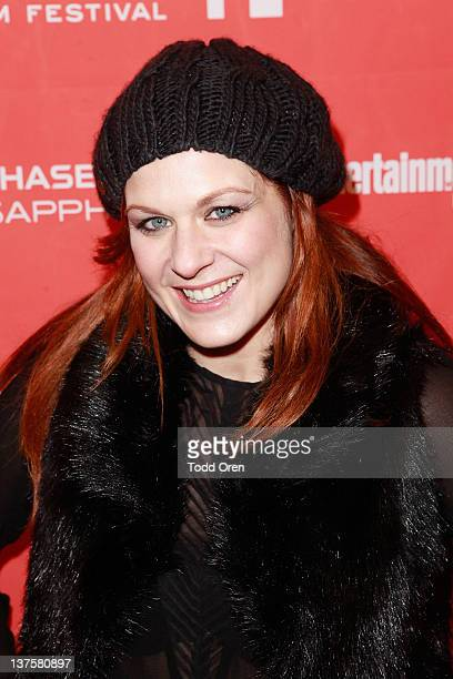 Actress Jenica Bergere attends the Safety Not Guaranteed premiere during the 2012 Sundance Film Festival held at Prospector Square Theatre on January...