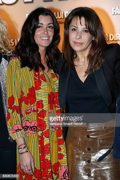 Actress Jenifer Bartoli and Tania Garbarski attend the 'Faut pas lui dire' Paris Premiere at UGC Cine Cite Bercy on January 2 2017 in Paris France
