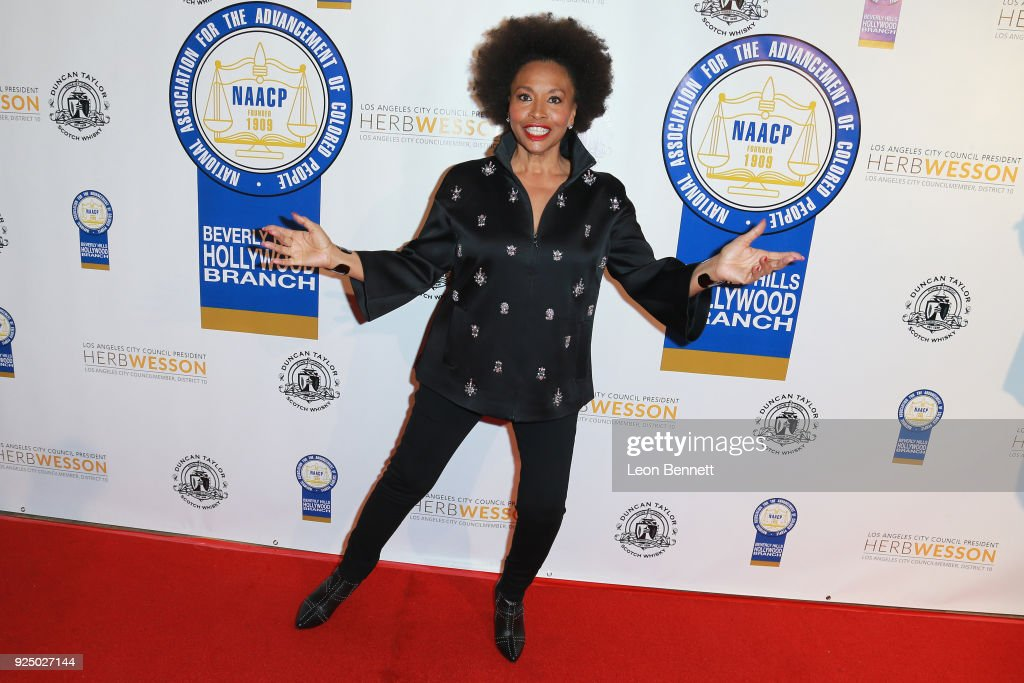 Actress Jenifer Lewis attends the 27th Annual NAACP Theatre Awards at Millennium Biltmore Hotel on February 26, 2018 in Los Angeles, California.