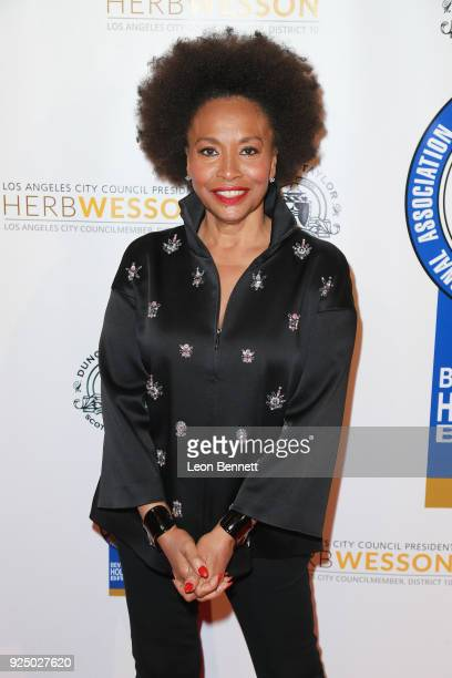 Actress Jenifer Lewis attends the 27th Annual NAACP Theatre Awards at Millennium Biltmore Hotel on February 26 2018 in Los Angeles California