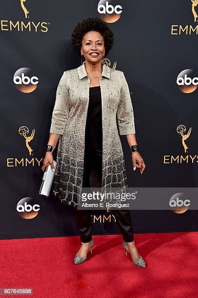 Actress Jenifer Lewis attends the 68th Annual Primetime Emmy Awards at Microsoft Theater on September 18 2016 in Los Angeles California