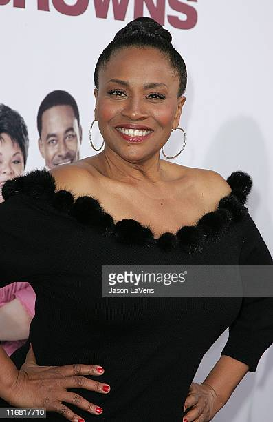 Actress Jenifer Lewis attends the World Premiere of Tyler Perry's Meet the Browns at the Arclight on March 13 2008 In Hollywood California