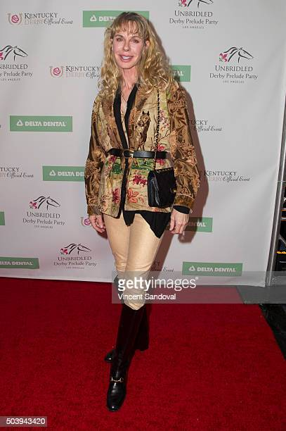 Actress Jenilee Harrison attends the 7th Annual Unbridled Eve Derby prelude party at The London West Hollywood on January 7, 2016 in West Hollywood,...