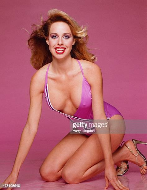 Actress Jenilee Harrison poses for a portrait in 1981 in Los Angeles California