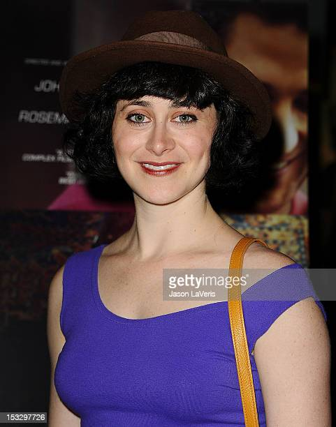 Actress Jenn Schatz attends the premiere of Nobody Walks at ArcLight Hollywood on October 2 2012 in Hollywood California