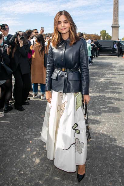 FRA: Dior : Outside Arrivals -  Paris Fashion Week - Womenswear Spring Summer 2022