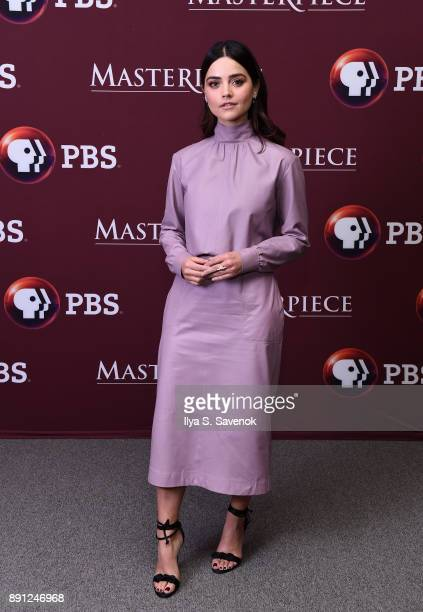 Actress Jenna Coleman attends 'Victoria' Season 2 Premiere on Masterpiece on PBS on December 12 2017 in New York City