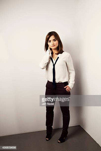 Actress Jenna Coleman is photographed for Entertainment Weekly Magazine on June 17 2014 in London England