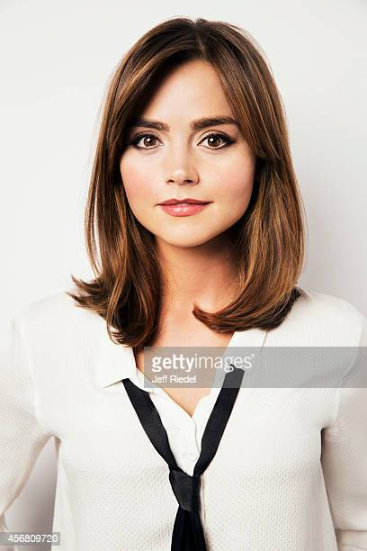 Actress Jenna Coleman is photographed for Entertainment Weekly Magazine on June 17, 2014 in London, England.