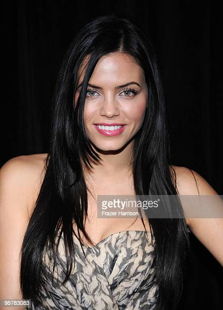 Actress Jenna Dewan arrives at the DIC/InStyle's 9th Annual Awards Season Diamond Fashion Show Preview at the Beverly Hills Hotel on January 14 2010...