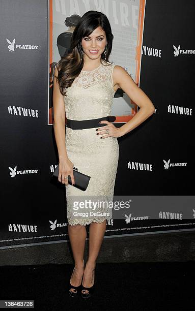 Actress Jenna Dewan arrives at the Haywire Los Angeles Premiere at Directors Guild Of America on January 5 2012 in Los Angeles California