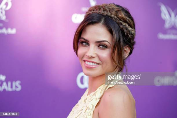 Actress Jenna Dewan attends the 11th Annual Chrysalis Butterfly Ball on June 9 2012 in Los Angeles California