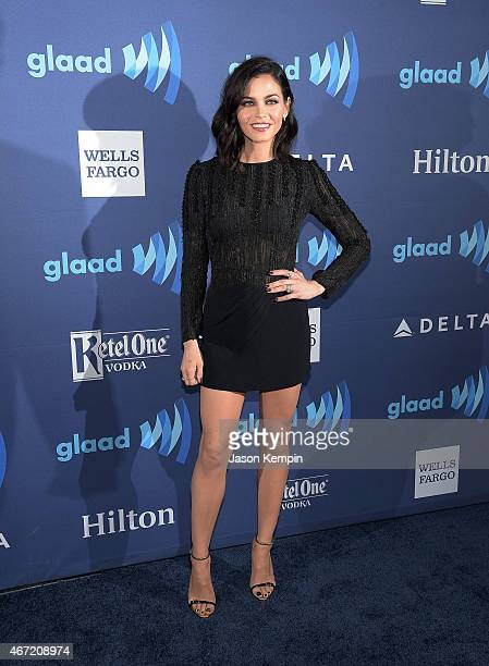 Actress Jenna Dewan attends the 26th Annual GLAAD Media Awards at The Beverly Hilton Hotel on March 21 2015 in Beverly Hills California