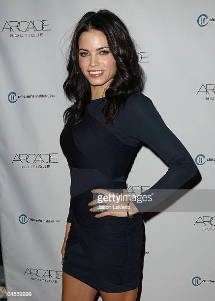 Actress Jenna Dewan attends the Autumn Party benefiting Children's Institute at The London Hotel on September 29, 2010 in West Hollywood, California.