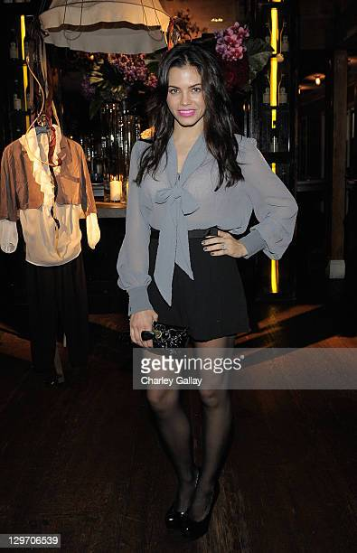 Actress Jenna Dewan attends the launch of Beckley By Melissa at Eveleigh on October 19 2011 in West Hollywood California