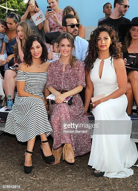 Actress Jenna Dewan Tatum actress Rachel Bilson and model designer Camila Alves attend Target Cat Jack Launch Celebration at Pier 6 at Brooklyn...