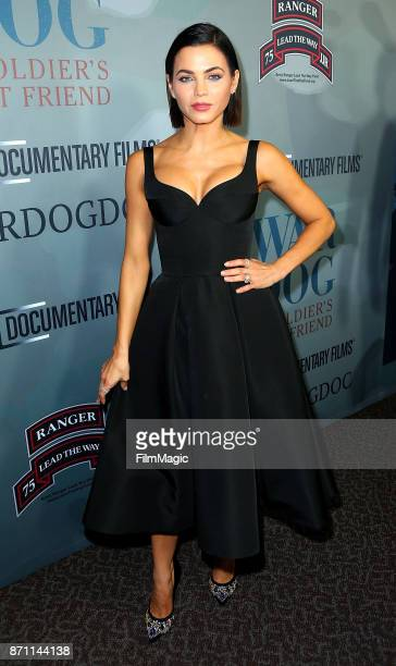 Actress Jenna Dewan Tatum arrives at HBO 'War Dog A Soldier's Best Friend' premiere at DGA Theater on November 6 2017 in Los Angeles California
