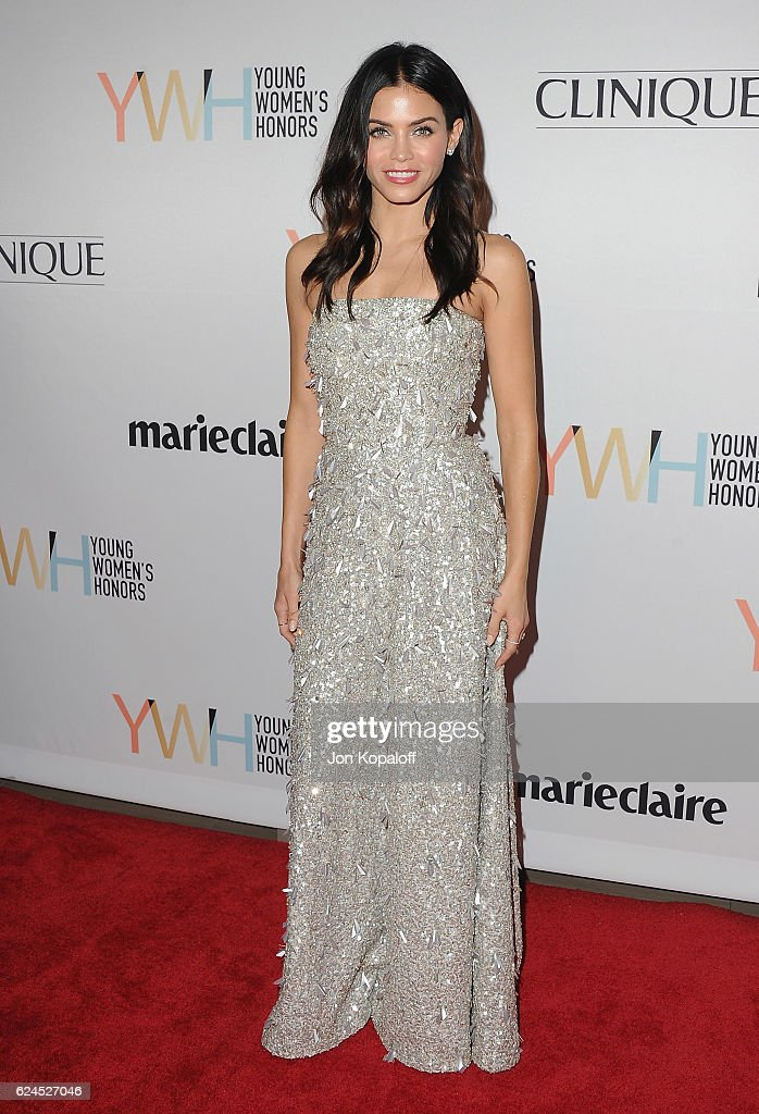 Actress Jenna Dewan Tatum arrives at the 1st Annual Marie Claire Young Women's Honors at Marina del Rey Marriott on November 19, 2016 in Marina del Rey, California.