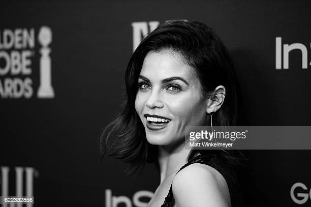 Actress Jenna Dewan Tatum arrives at the Hollywood Foreign Press Association and InStyle celebrate the 2017 Golden Globe Award Season at Catch LA on...