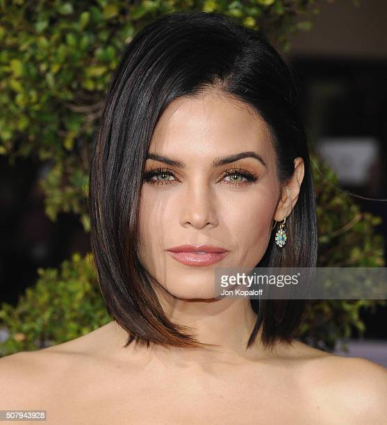 Actress Jenna Dewan Tatum arrives at the Los Angeles Premiere 'Hail Caesar' at Regency Village Theatre on February 1 2016 in Westwood California