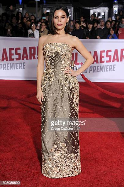 Actress Jenna Dewan Tatum arrives at the premiere of Universal Pictures' Hail Caesar at Regency Village Theatre on February 1 2016 in Westwood...