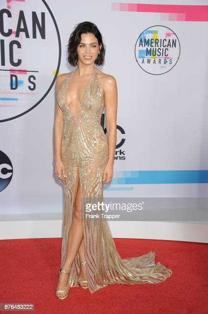 Actress Jenna Dewan Tatum attends 2017 American Music Awards at Microsoft Theater on November 19 2017 in Los Angeles California