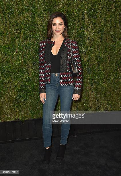 Actress Jenna Dewan Tatum attends CHANEL Dinner in Honor of Baby2Baby at CHANEL Boutique on September 29 2015 in Los Angeles California
