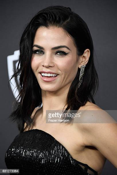 Actress Jenna Dewan Tatum attends the 18th Annual PostGolden Globes Party hosted by Warner Bros Pictures and InStyle at The Beverly Hilton Hotel on...