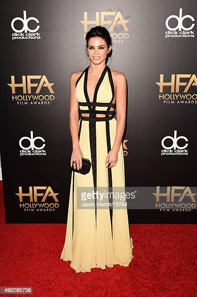 Actress Jenna Dewan Tatum attends the 19th Annual Hollywood Film Awards at The Beverly Hilton Hotel on November 1 2015 in Beverly Hills California