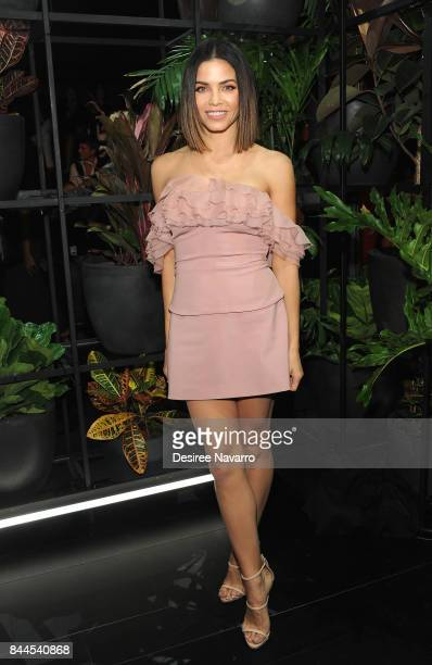 Actress Jenna Dewan Tatum attends the Cushnie Et Ochs fashion show during New York Fashion Week: The Shows at Gallery 1, Skylight Clarkson Sq on...