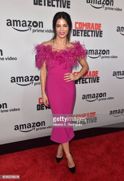 """Actress Jenna Dewan Tatum attends the premiere of Amazon's """"Comrade Detective"""" at ArcLight Hollywood on August 3, 2017 in Hollywood, California."""