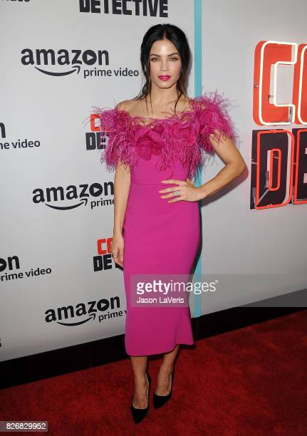 Actress Jenna Dewan Tatum attends the premiere of 'Comrade Detective' at ArcLight Hollywood on August 3 2017 in Hollywood California