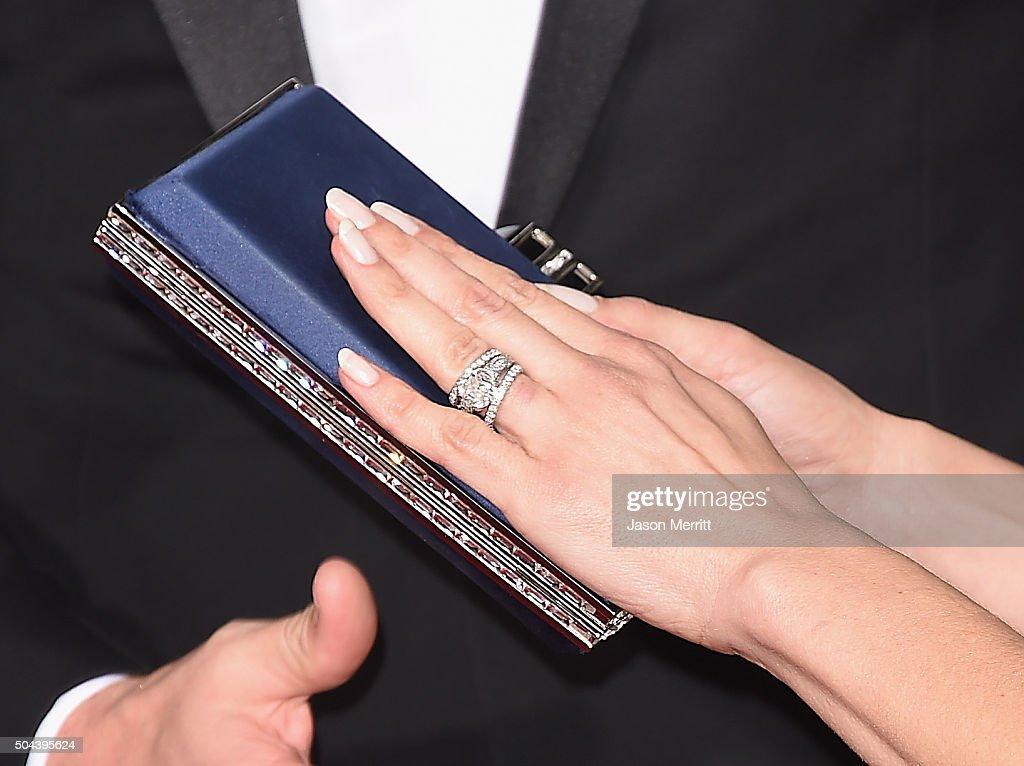 Actress Jenna Dewan Tatum, ring detail, attends the 73rd Annual ...