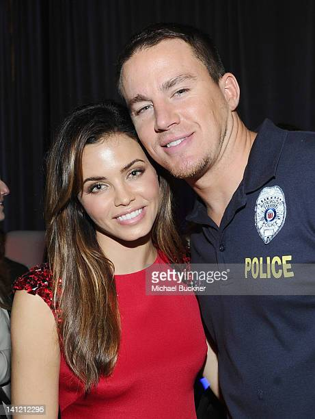 Actress Jenna DewanTatum and actor Channing Tatum attend '21 Jump Street' After Party during the 2012 SXSW Music Film Interactive Festival at...