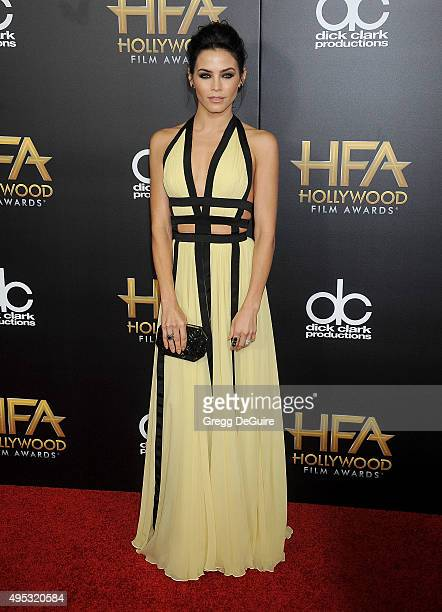 Actress Jenna DewanTatum arrives at the 19th Annual Hollywood Film Awards at The Beverly Hilton Hotel on November 1 2015 in Beverly Hills California