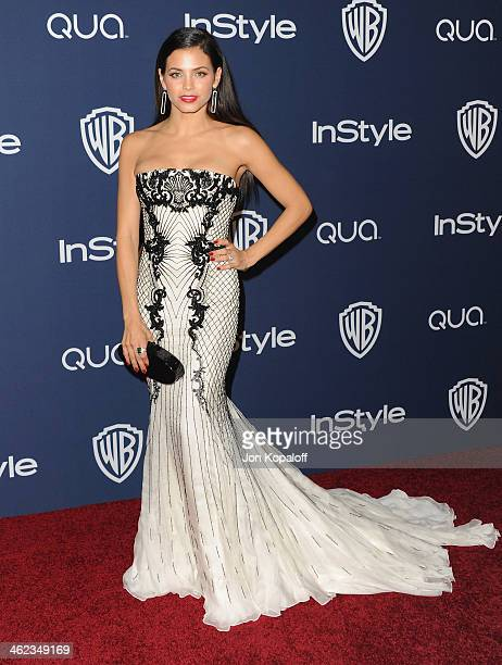 Actress Jenna DewanTatum arrives at the 2014 InStyle And Warner Bros 71st Annual Golden Globe Awards PostParty on January 12 2014 in Beverly Hills...