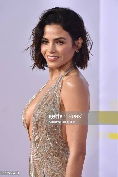 Actress Jenna DewanTatum arrives at the 2017 American Music Awards at Microsoft Theater on November 19 2017 in Los Angeles California