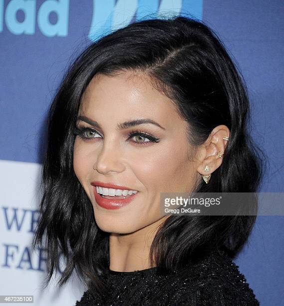 Actress Jenna DewanTatum arrives at the 26th Annual GLAAD Media Awards at The Beverly Hilton Hotel on March 21 2015 in Beverly Hills California