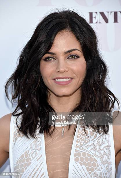 Actress Jenna DewanTatum arrives at The Hollywood Reporter's Women In Entertainment Breakfast at Milk Studios on December 10 2014 in Los Angeles...