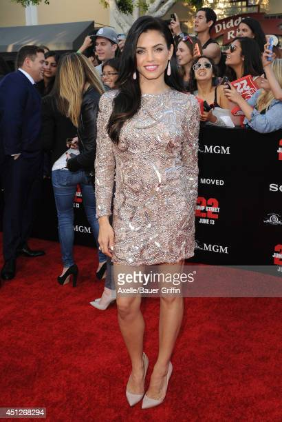 Actress Jenna DewanTatum arrives at the Los Angeles Premiere '22 Jump Street' at Regency Village Theatre on June 10 2014 in Westwood California